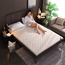 Double Sided Mattress Topper Pad,thick Sleeping Tatami Floor Mat,quilting Breathable Traditional Japanese Futon Cushion Knitted Bed Topper Pillow Top Mattress-a-4cm 150x190cm(59x75inch)