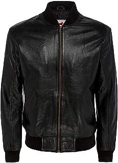 Leatherholics Men`s Genuine Letterman Varsity Leather Bomber Jacket