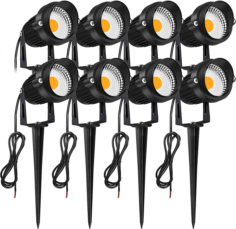 JESLED Animer and price revision 7W LED Landscape Spot Lights All stores are sold Voltage 12V 24V Waterpr Low