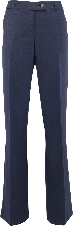 Alexandra Womens Ladies Icona Bootleg Formal Work Suit Trousers