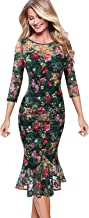 Best tea length dresses with sleeves for wedding guest Reviews