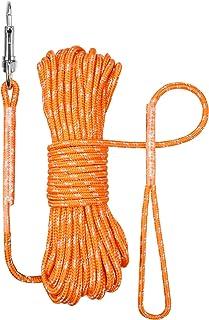 TagME 10M Reflexivo Correa Perro Adiestramiento,Correa Larga para Entrenamiento y Juego de Perros Pequeños,Naranja