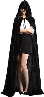 Best black velvet cape with hood Reviews