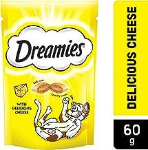 Dreamies Cat Treats, Cheese, 60g x 6