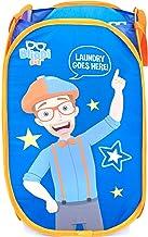 Jay Franco Blippi Pop Up Hamper - Mesh Laundry Basket/Bag with Durable Handles (Official Blippi Product)