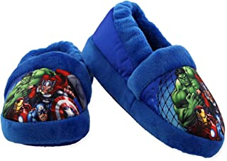 Image of Blue Avengers Slippers for Boys and Toddlers