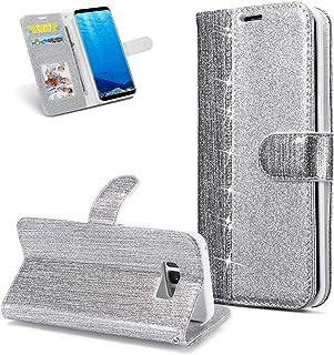 Schutzh/ülle Leder H/ülle Handyh/ülle Magnetisch Klapph/ülle Leder Tasche Flip Case Cover Etui Brieftasche mit Kartenfach Handytasche f/ür Galaxy S20 Plus-Gr/ün Dclbo H/ülle f/ür Samsung Galaxy S20 Plus
