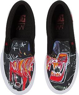 Basquiat Manual Slip-On (Little Kid/Big Kid)