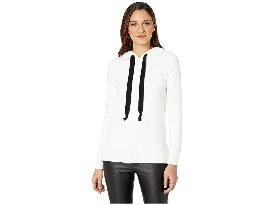 kensie Comfy Viscose Blend Sweater KS1K5916 (Ivory Cloud) Women