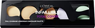 L'Oréal Paris Paleta correctora Infalible Total Cover
