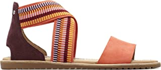 Women's Ella Sandal Stripes Sandals, Size: 5.5 B(M) US, Color: Zing