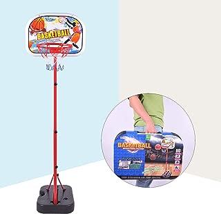 Portzon NBA Mini Basketball Hoop Indoor with Adjustable-Height 67 inch-78.7 inch Shatter Resistant Backboard
