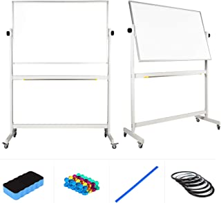 magnetic dry erase board on wheels