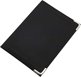ID and Credit Card Holder with Metal Protection Corners in 2 Different Designs in Black (Model 2 / with Foil)