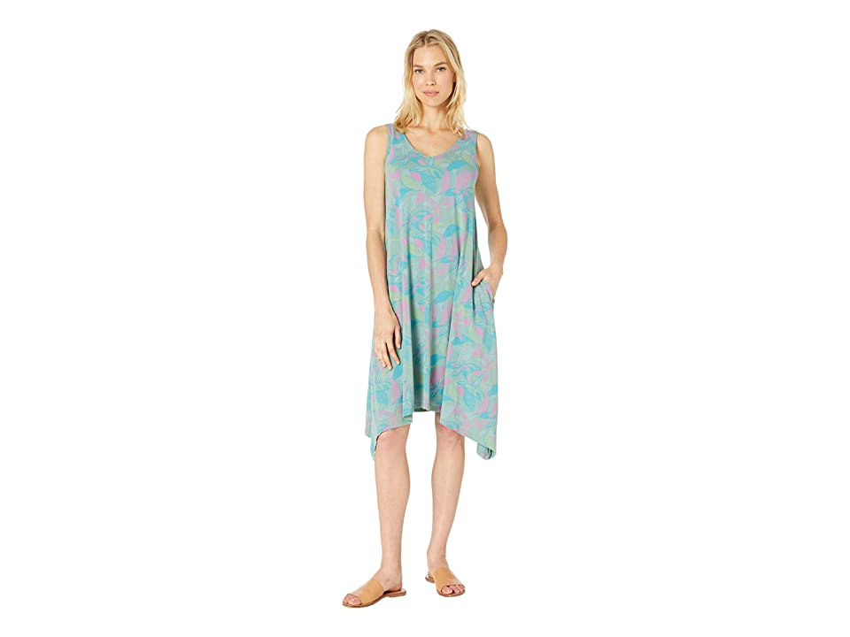 Fresh Produce Beachside Blooms Lydia Dress (Lagoon Green) Women