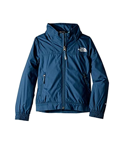 The North Face Kids Windy Crest Jacket (Little Kids/Big Kids) (Blue Wing Teal) Girl