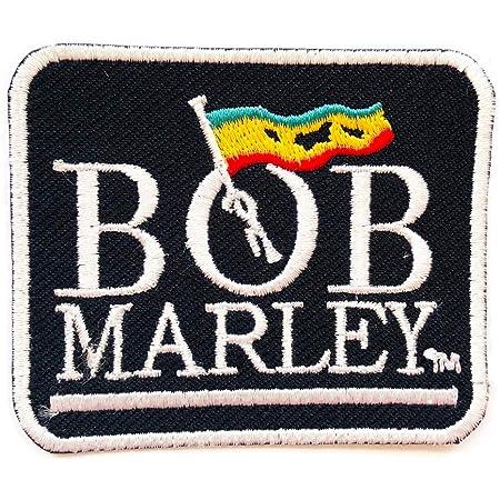 Bob Marley - Parche bordado para coser y planchar para ropa, etc