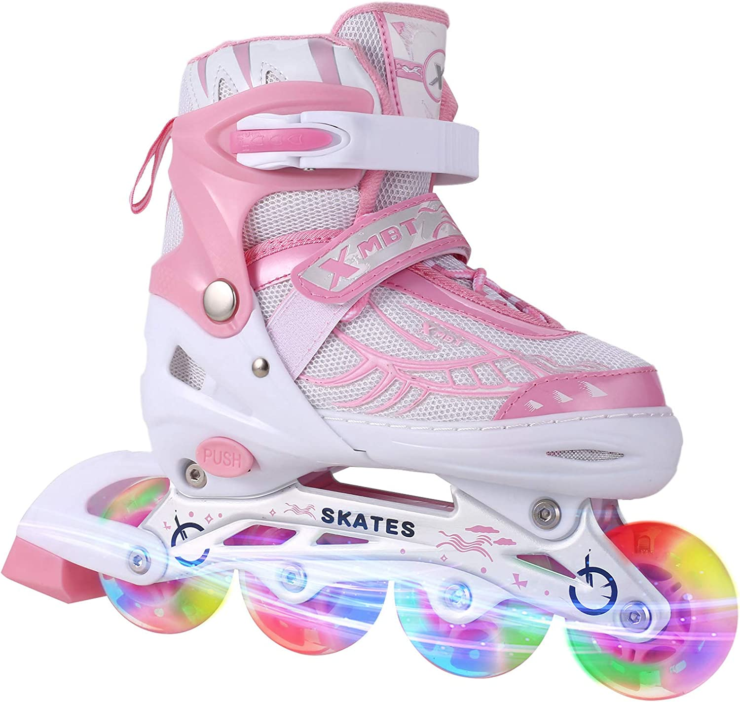 Aceshin Adjustable Inline Skates for Ill Kids and Durable Max 82% OFF Safe Indianapolis Mall