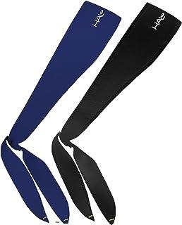 Halo Headbands - Sweatband Tie, 2 Pack (1 Black & 1 Navy)