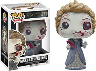 Funko Pop! Movies: Pride and Prejudice and Zombies - Mrs. Featherstone Vinyl Figure (Bundled with Pop Box Protector CASE)