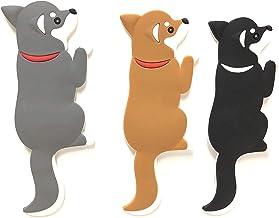 Singlebranch Decorative Dog Magnets for Refrigerator Office Classroom & Kitchen - Hooks for Hanging Keys Towel Hangers - S...