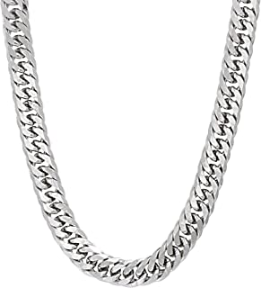 26 Inch Flat Stainless Steel Curb Chain Necklace for Men