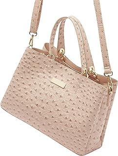 Textured Shoulder Bag with Double Handles