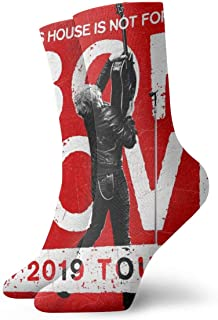 KIJBB2WBFBP Bon Jovi Unisex Short Socks Fun Music Pattern Socks Bag