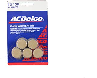 Genuine GM Fluid 12378255 Cooling System Seal Tablet - 4 Grams, (Pack of 5)