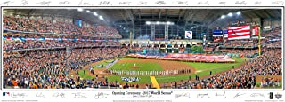 2017 World Series MAJESTY Houston Astros Minute Maid Park w/Game Inserts and Facsimile Signatures Field Stadium Panoramic Poster #2119