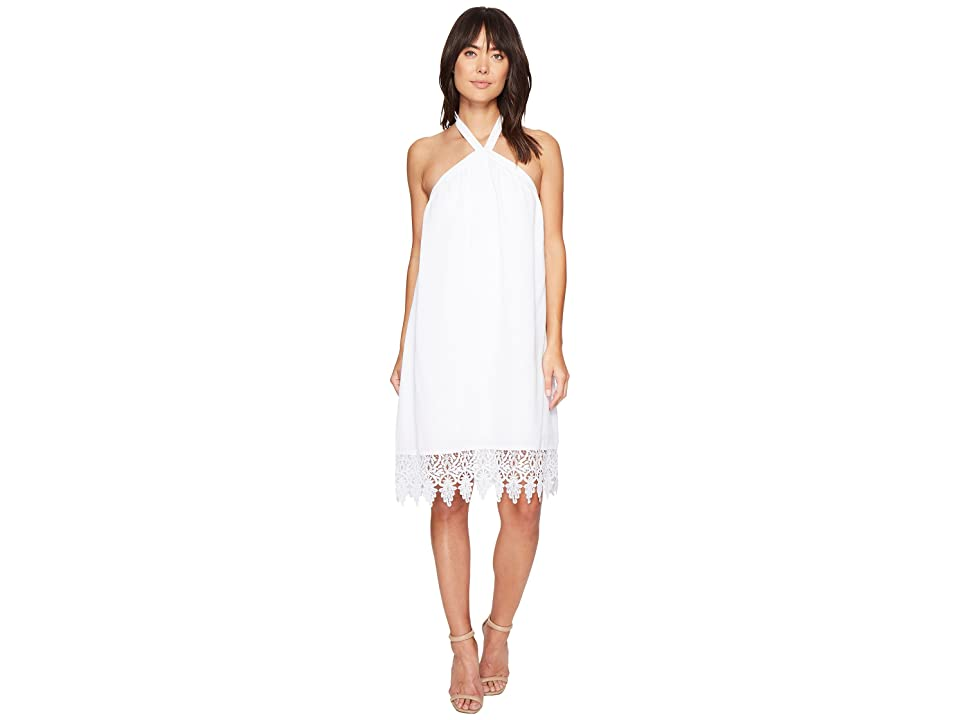 kensie Luxury Crepe Dress KS4K7818 (White) Women