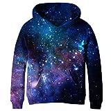 SAYM Teen Boys Galaxy Fleece Sweatshirts Pocket Pullover Hoodies 4-16YSAYM Teen Boys Galaxy Fleece Sweatshirts Pocket P… by SAYM