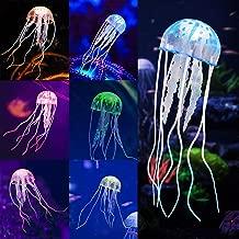 Glowing Jellyfish, 6pcs Aquarium Glowing Jellyfish Decoration Aquarium Ornament Decorations for Fish Tank Decorations