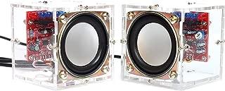 Gikfun Upgraded USB Mini Amplifier Electronic Transparent Stereo Speaker Box Sound Amplifier DIY Kit for Arduino EK1918