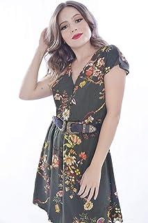 Vestido Mania de Sophia Curto Floral Verde