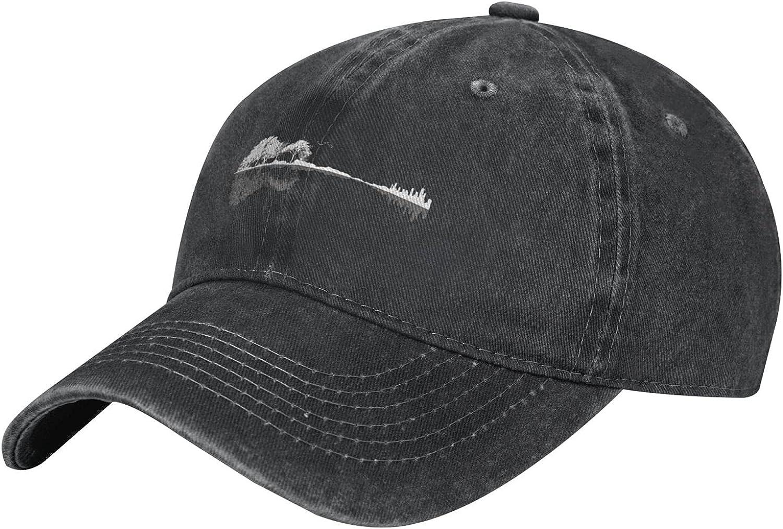 Cute Plugged in Music Hat Denim Cap,Vintage Cotton Baseball Cap Adjustable Cowboy Hat Sun Hats Dad Hat for Women Men