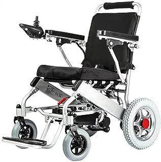 New Model 2019 Fold & Travel Lightweight Electric Wheelchair Motor Motorized Wheelchairs Electric Silla De Ruedas Power Wheelchair Power Scooter Aviation Travel Safe Heavy Duty Mobility Aids Chair