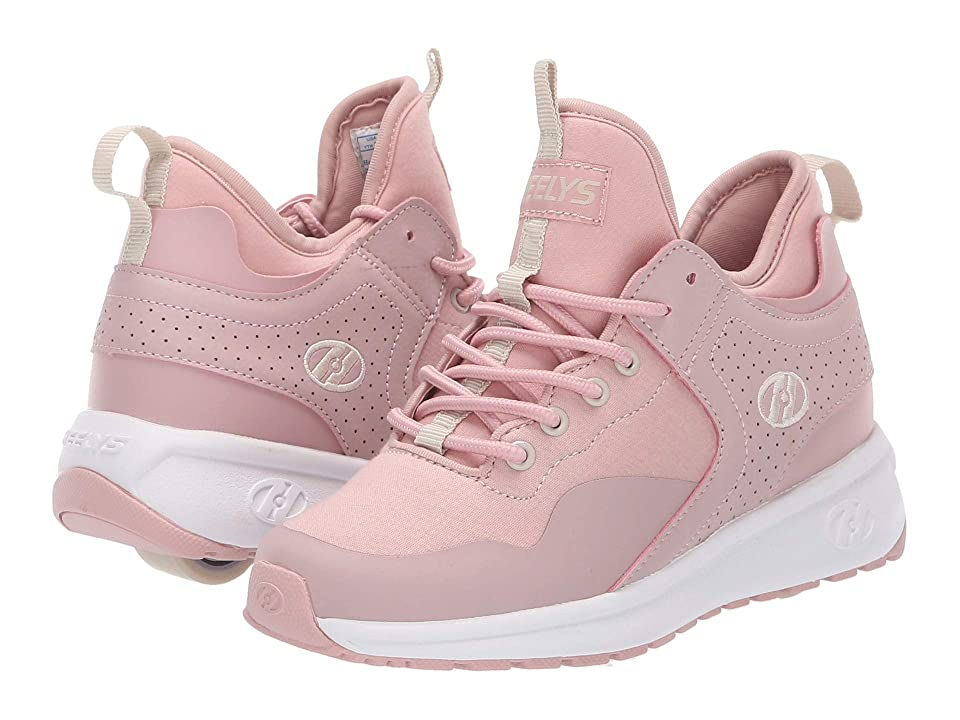 Heelys Piper (Little Kid/Big Kid/Adult) (Dusty Rose/White) Girls Shoes