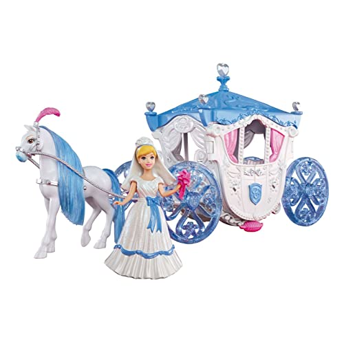 Amazon.com: Disney Princess Cinderella Wedding Carriage: Toys \ Games