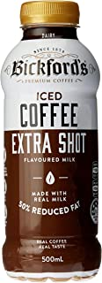 Bickford's Iced Coffee Extra Shot Flavoured Milk, 12 x 500ml