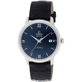 [オメガ] 腕時計 デ・ビル ブルー文字盤 コーアクシャル自動巻 424.13.40.20.03.001 並行輸入品 ブラック