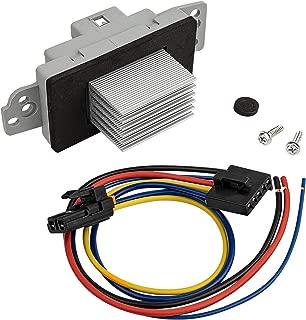 1581773 Blower Motor Resistor Complete Kit with Harness Replaces # Replaces 89018778, 89019351, 15-81773 for Chevy Silverado Suburban Tahoe Trailblazer,GMC Sierra Yukon Envoy,Buick Cadillac Escalade