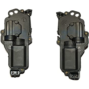 Amazon Com Power Door Lock Actuator Front Rear Left Right Lh Rh Pair Set For Ford Truck Mustang Mercury Automotive