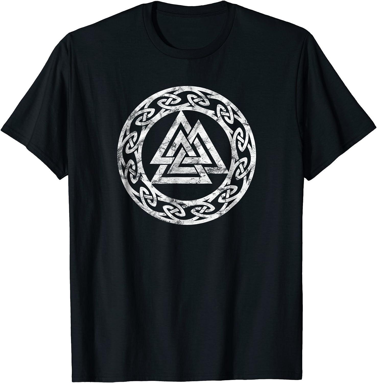 Viking Thor/'s Hammer design mens T shirt Celtic Norse Odin.