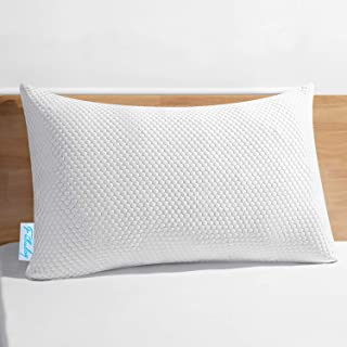 Fabuday Premium Shredded Memory Foam Pillows for Sleeping, Hypoallergenic & Loft Adjustable Pillows with Silky Soft Coolin...