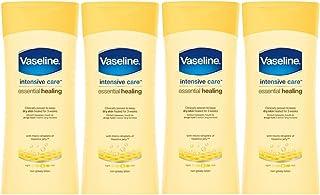 x4 Vaseline Intensive Care Essential Healing Dry Skin Body