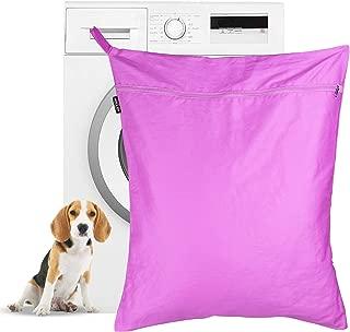 Bolsa de lavandería para mascotas   Bolsa de lavado Petwear   Removedor de pelo para perros y gatos para lavadoras   Gran tamaño adecuado para camas, juguetes, collares   M&W