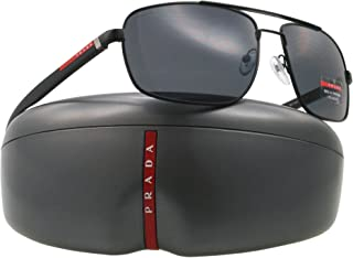 Sunglasses SPS 55N BLACK 1BO-5Z1 SPS55N POLARIZED