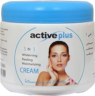Active Plus 3 In 1 Cream Whitening, 500 ml