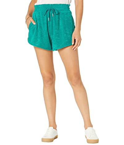 Blank NYC Terry Cloth Elastic Waist Shorts